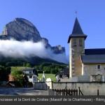 Dent de Crolles (2062m) - Hameau du Tournoud (commune de St-Pancrasse)